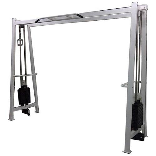 Cable Cross Over DELTAGYM Beban Besi @ 75kg (100% Import) Ukuran: Panjang: 60cm Lebar: 350cm Tinggi: 230cm